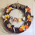 Week 2 Fall Wreath