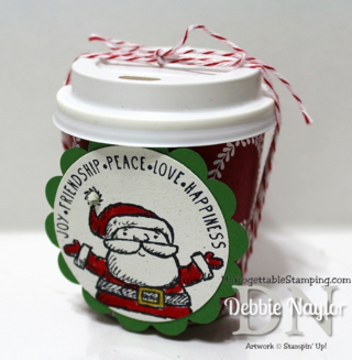 Unfrogettable Stamping | Fabulous Friday altered mini coffee K-Cup small gift idea
