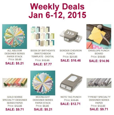 Unfrogettable Stamping | Weekly Deals Jan 6-12, 2015