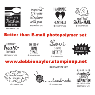 Unfrogettable Stamping | Better Than Email photopolymer set