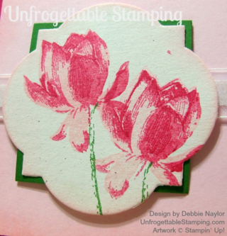 Unfrogettable Stamping | Fabulous Friday Lotus Blossom card