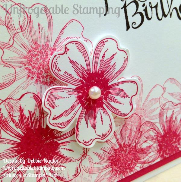 Quick Easy CASEd Flower Shop birthday card Unfrogettable – Birthday Card Shop