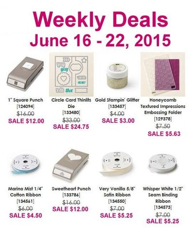 Weekly Deals June 16-22