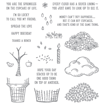 Unfrogettable Stamping | Sprinkles of Life stamp set for RHMC by Stampin' Up!
