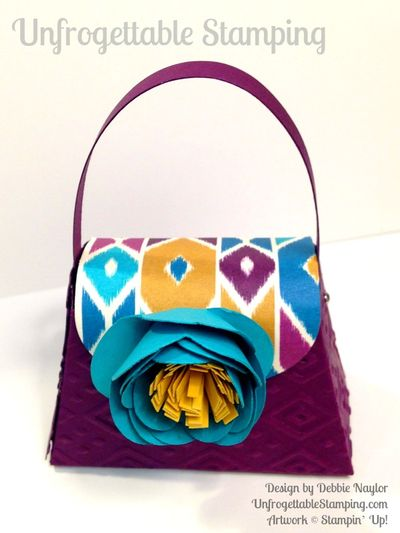 Unfrogettable Stamping Fabulous Friday Boho Chic purse favor4