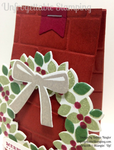 Unfrogettable Stamping | Fabulous Friday favor featuring the new Brick Wall texture folder from Stampin' Up!