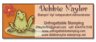 Unfrogettable Stamping contact info