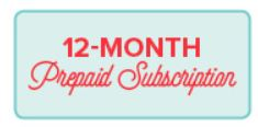 Unfrogettable Stamping | 12-month prepaid Paper Pumpkin subscription