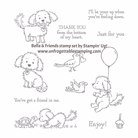 Bella and Friends stamp set