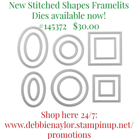 Stitched Shapes Framelits