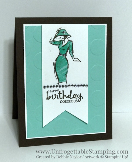 Unfrogettable Stamping | Fabulous Friday birthday card featuring the Beautiful You stamp set by Stampin' Up!