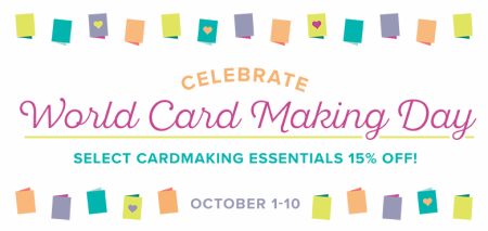 Unfrogettable Stamping   2017 World Card Making Day promotion from Stampin' Up!