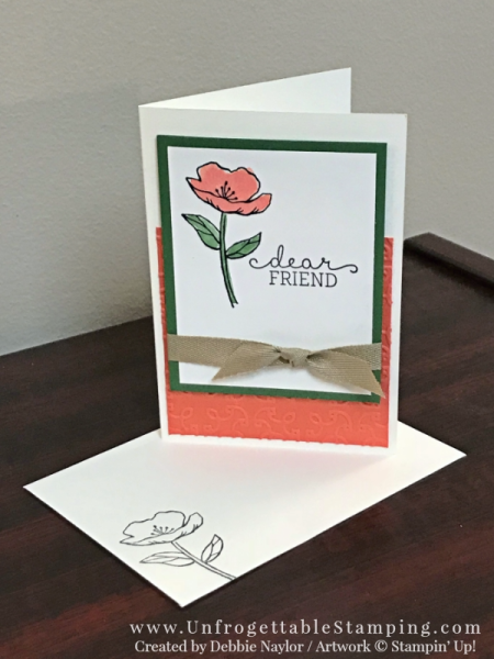 Unfrogettable Stamping   Fabulous Friday personalized gift featuring the Birthday Blooms stamp set by Stampin' Up!