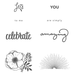 Unfrogettable Stamping | Amazing You stamp set - a Sale-a-Bration selection that is FREE with a qualifying $50 order from Stampin' Up!