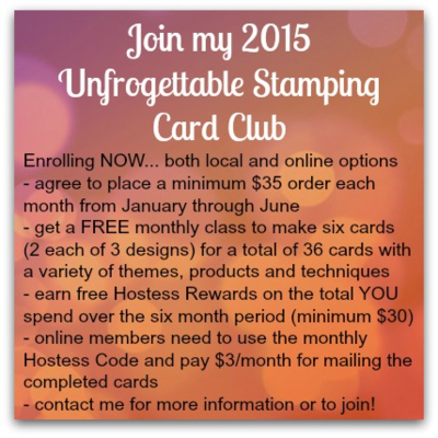 Unfrogettable Stamping | Card Club - join now!