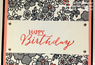 Unfrogettable Stamping | QE Lacy Blooms birthday card 2015-02-02
