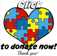 Autism donate now button