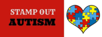 Stamp out autism banner