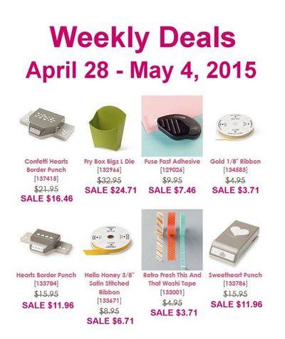 Weekly Deals April 28 - May 4