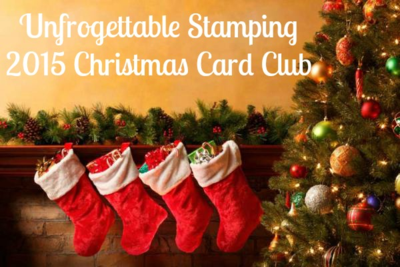 Unfrogettable Stamping | Join my 2015 Christmas card club!