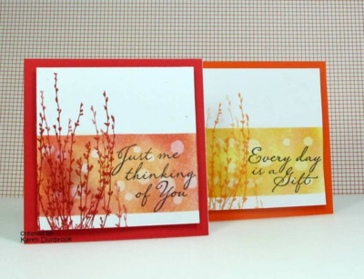 "Unfrogettable Stamping | ""pinspiration"" project for my Fabulous Friday card 2015-08-14 by Karen Dunbrook"
