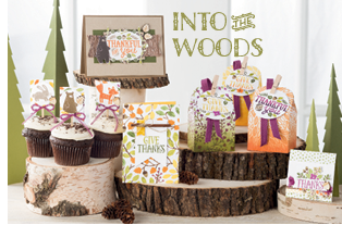 Unfrogettable Stamping | Into the Woods product suite by Stampin' Up! in the 2015 Holiday catalog