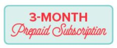 Unfrogettable Stamping | 3-month Paper Pumpkin prepaid subscription