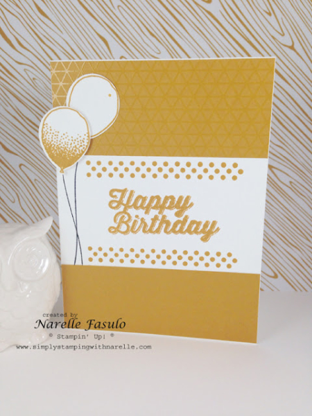 QE CASE Balloon Celebration card by Narelle Fasulo