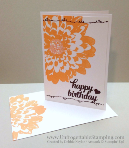 Unfrogettable Stamping | Fabulous Friday note card gift set featuring the Definitely Dahlia and Tin of Cards stamp sets from Stampin' Up!