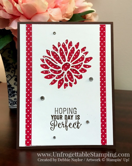 Unfrogettable Stamping   QE all occasion card featuring the Stylish Stems framelits dies for the Big Shot, Sending Love DSP stack and Suite Sentiments stamp set by Stampin' Up! for week of 2017-02-202017-02-20