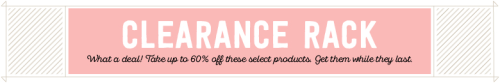 Shop the Stampin' Up! Clearance Rack