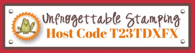 Unfrogettable Stamping   April 2018 Host Code