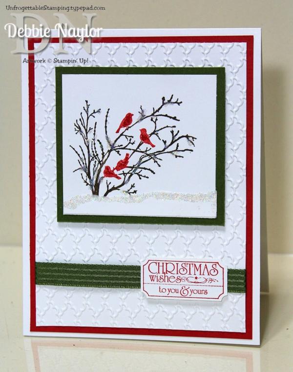 Week 2 of my twelve weeks of quick easy christmas card for Quick and easy christmas cards