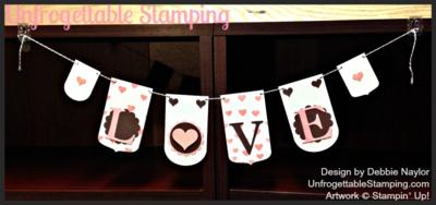 Unfrogettable Stamping   Valentine Banner