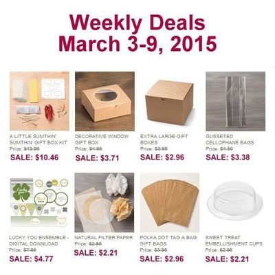 Weekly Deals Mar 3-9