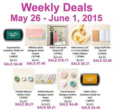 Weekly Deals May 26 - June 1