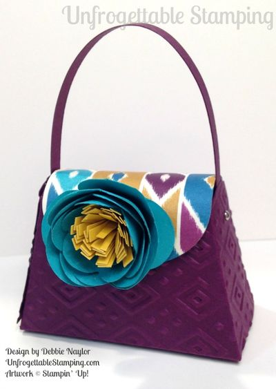 Unfrogettable Stamping Fabulous Friday Boho Chic purse favor