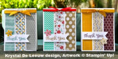 Unfrogettable Stamping | Krystal De Leeuw DSP card design