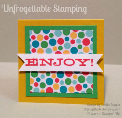 Unfrogettable Stamping | Fabulous Friday teacher gift set featuring the Big Shot Fry Box Bigz L die, All About Sugar coordinating stamp set and Cherry on Top DSP stack from Stampin' Up!