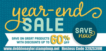 Unfrogettable Stamping | Stampin' Up! Year End Sale has begun!!!