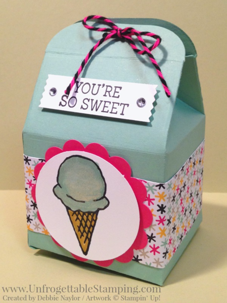 Unfrogettable Stamping | Fabulous Friday Honeycomb Happiness bakers box