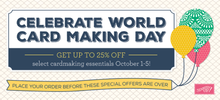 Unfrogettable Stamping | World Card Making specials by Stampin' Up!
