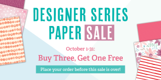 Unfrogettable Stamping | DSP Sale, Buy 3 Get 1 Free from Stampin' Up!