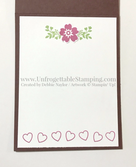 Unfrogettable Stamping   Fabulous Friday Valentine's Day card featuring the Bloomin' Love stamp set, Lots of Label framelits collection and Happy Hearts impressions folder for the Big Shot by Stampin' Up!