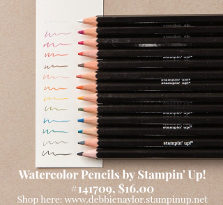 Unfrogettable | Watercolor pencils by Stampin' Up!