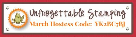March 2017 Hostess code