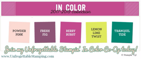 Unfrogettable Stamping | Join my 2017-2019 In Color Co-Op!!