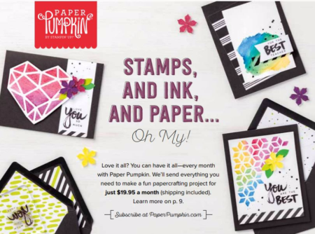 Unfrogettable Stamping | Stampin' Up! Annual Catalog back cover