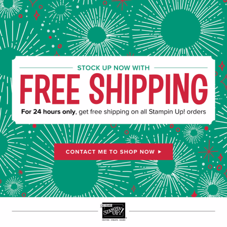 Unfrogettable Stamping | FREE Shipping for Cyber Monday from Stampin' Up!