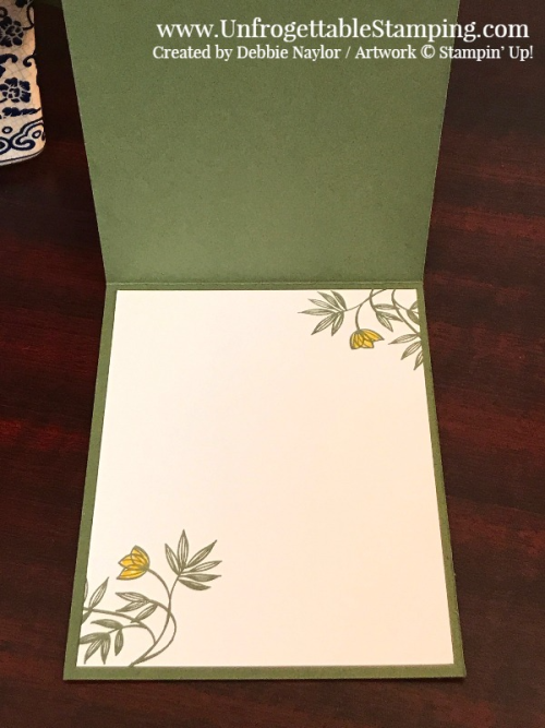 Unfrogettable Stamping | Fabulous Friday card featuring Always Artichoke and the Lovely Wishes stamp set by Stampin' Up!